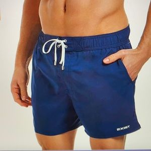 2(X)IST Solid Swim Trunks